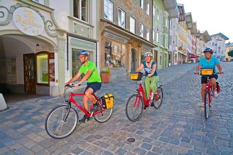 Bikers in Bad Tölz
