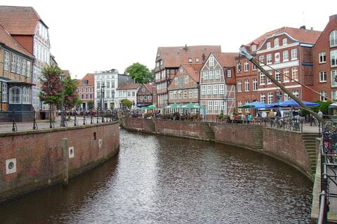 Alter Hafen in Stade