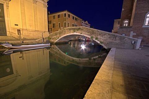 Bridge over channel in Chioggia