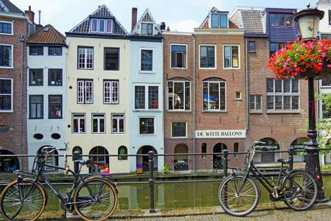 Häuserreihe Südholland