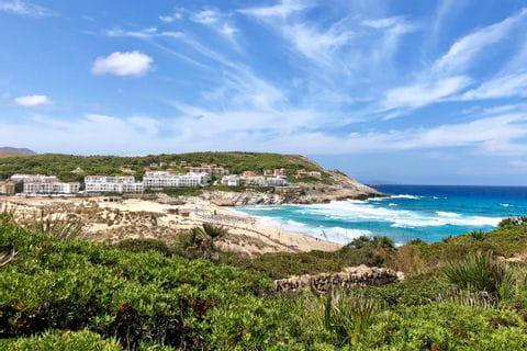 Blick über die Küste Capdepera
