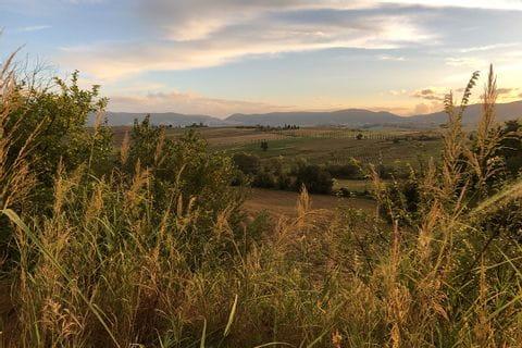 Landscape in Umbria