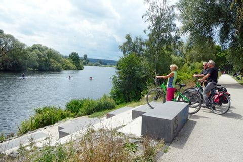 Ruhr Cycle Path close to Essen