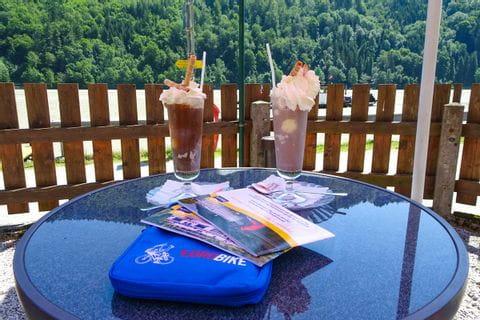 Eisschokolade in Obermühl