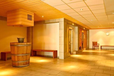 Wellnessbereich im Hafenhotel