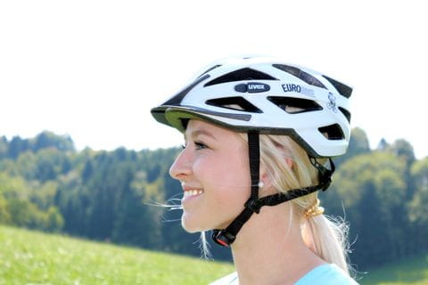 Eurobike cycle helmet with the right fit