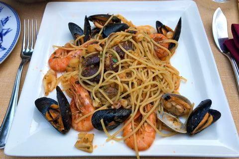 Spaghetti with Frutti di mare