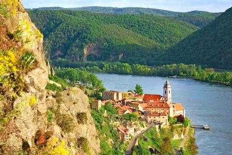 Duernstein on the Danube