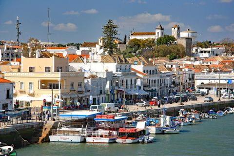 Das schöne Hafenstädtchen Tavira