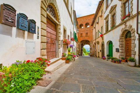 City gate of Montecarlo