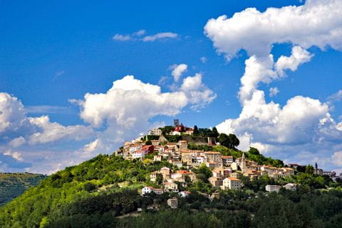 The city of Motovun