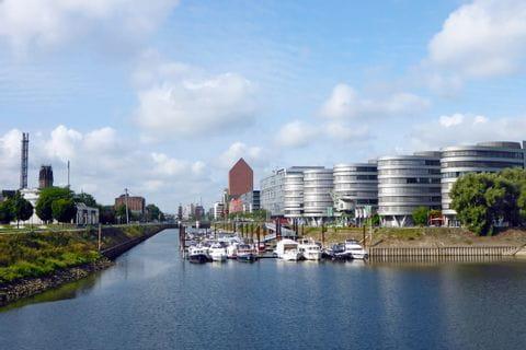 Ausblick auf Duisburg