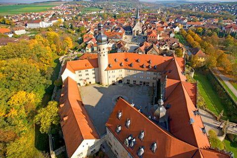 Schloss Weikersheim Innenhof