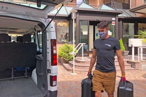 Sicherheit und Hygiene beim Gepäcktransfer