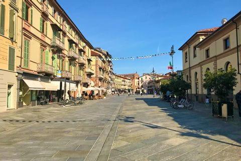 City centre Saluzzo