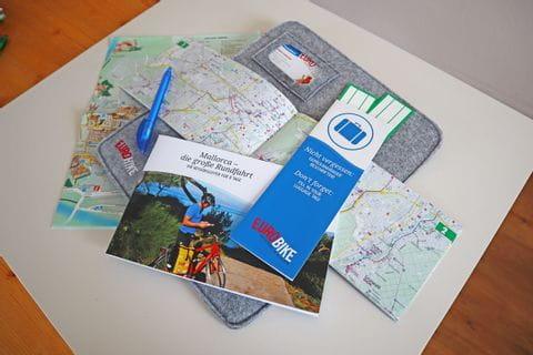 Eurobike Reiseunterlagen neu