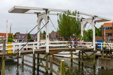 Bridge for cyclists Harderwijk