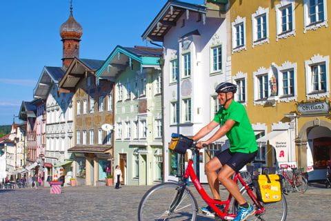 Biker in Bad Tölz