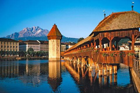 Bridge in Luzern