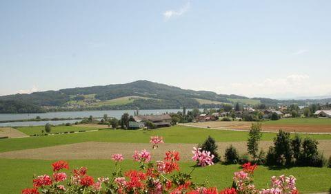 View on lake Obertrumersee