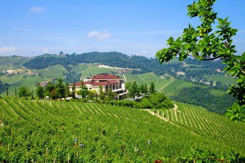 Piemont Sternfahrt Hügellandschaft