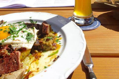 Typical bavarian food