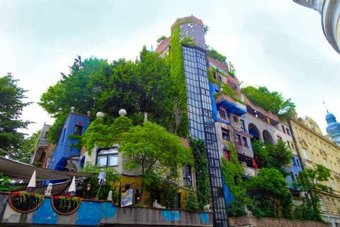 Ausflug Hundertwasserhaus Wien