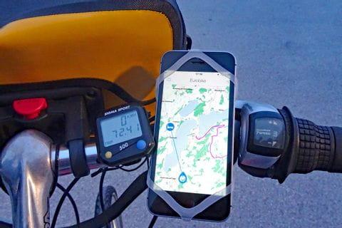 Eurobike App am Lenker