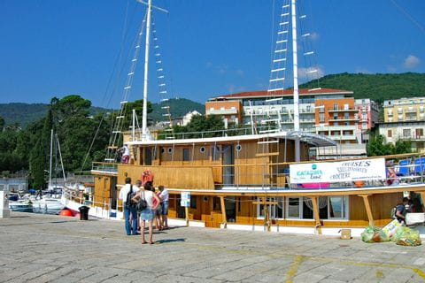 MS Planka im Hafen
