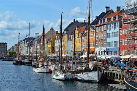 Boote in Kopenhagen