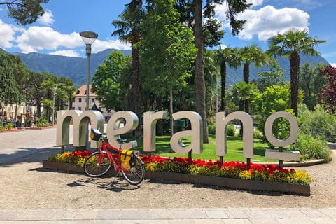 Merano in South Tyrol