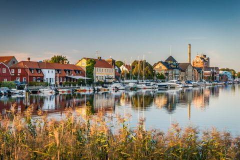 Simrishamn in Südschweden