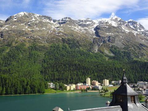 Traumhafte Aussicht in St. Moritz
