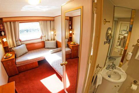 Cabin main deck MS Prinzessin Katharina