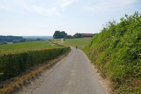 Radweg in Maastricht
