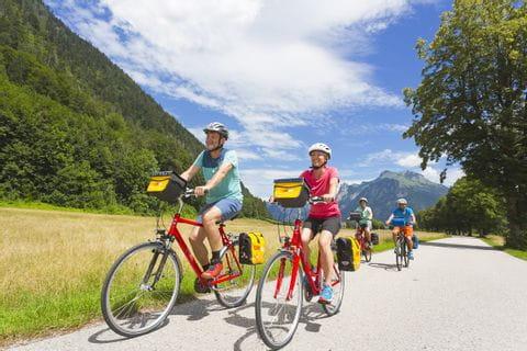 Radler Gruppe auf der Alpe Adria Sternfahrt