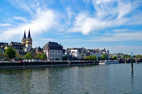 Coblenz at Rhine