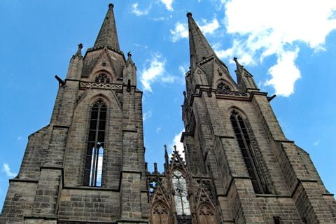 Elisabeth church in Marburg
