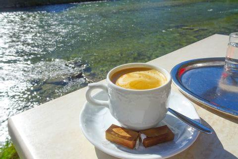 Kaffee an der Traun