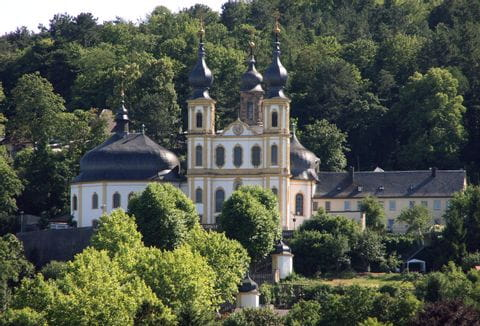 Wallfahrtskirche in Wuerzburg