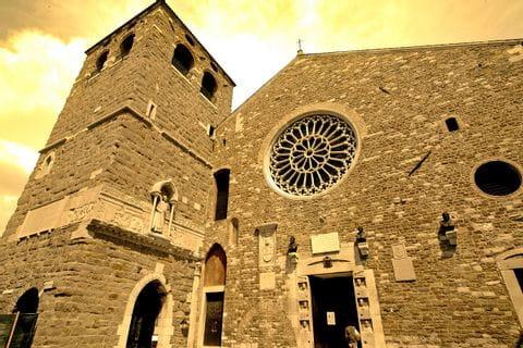 Cultur in Trieste on the hiking tour Alpe Adria Trail