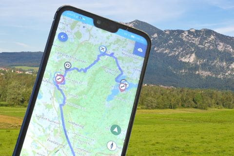 neue Eurobike-App mit GPS-Daten
