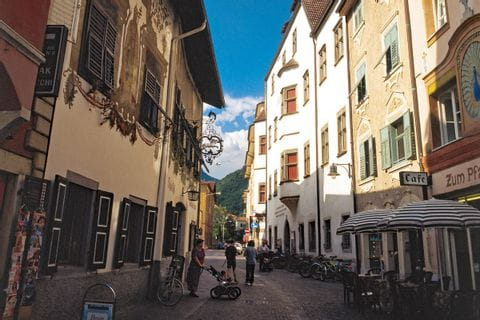 City centre of Bolzano