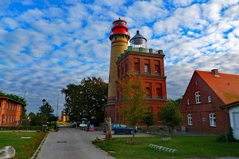 Leuchtturm am Kap Arkona auf Rügen