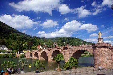 alte Bruecke in Heidelberg