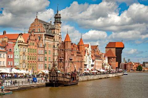 Historische Bauten Danzig