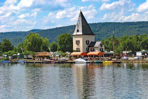 Ferry tower in Schweich