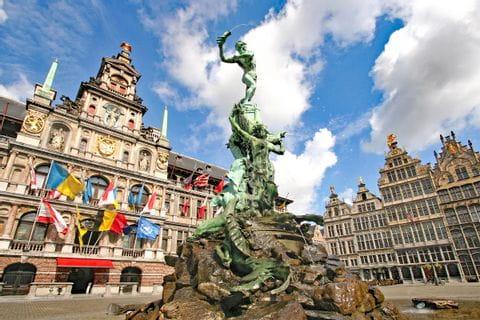 Big market Antwerp