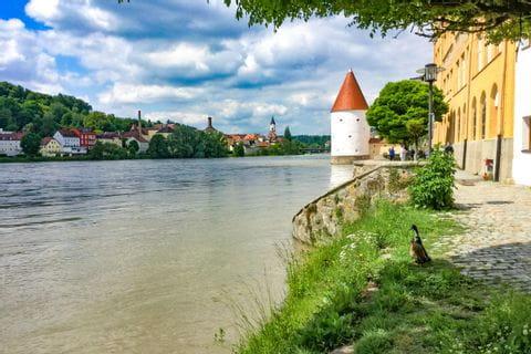 Donauufer bei Passau