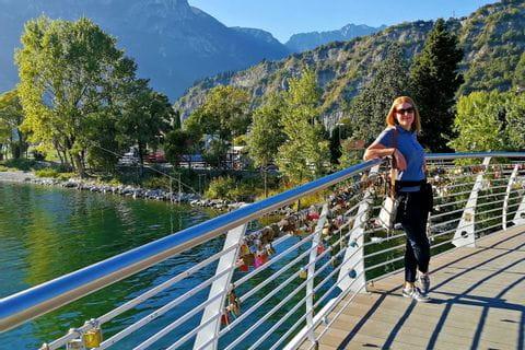 Eurobike Mitarbeiterin aus Brücke am Gardasee